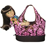 SAVE $20 - AnnLoren Carrier Tote Storage for American Girl Dolls $24.99