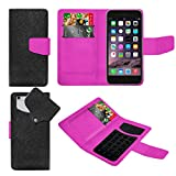 HTC Sensation XL Black And Purple PU LEATHER SUCTION WALLET CASE AND RETRACTABLE STYLUS PEN Case In Your Face®