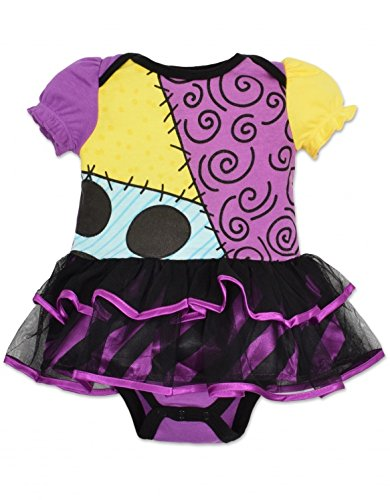 [Baby Girls' Sally Tutu Onesie Costume (0-6 Months)] (Easy Sally Costumes)