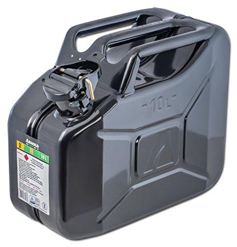 Metall-Kraftstoffkanister 10 L, schwarz, 6011-X1-2001
