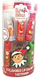 The Elf on the Shelf 5 Flavored Lip Balms with Keychain