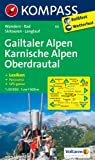Gailtaler Alpen - Karnische Alpen - Oberdrautal: Wanderkarte mit Kurzführer, Radwegen, Skitouren, Loipen und Panorama. GPS-genau. 1:50000 (KOMPASS-Wanderkarten)
