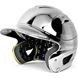Under Armour Solid Chrome Youth Baseball Batting Helmet by Under Armour