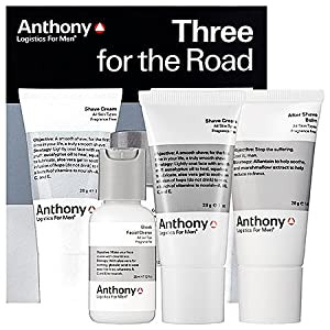 Anthony Logistics for Men Three for the Road Travel Shave Kit from Anthony Logistics