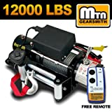 Brand New MTN GearSmithTM 12000 lbs Electric Power Truck/SUV/Pickup Winch