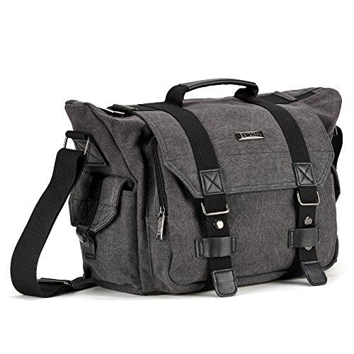 evecase-premium-large-canvas-messenger-dslr-digital-camera-travel-bag-w-rain-cover-tablet-laptop-com