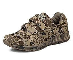 Adi Men\'s Outdoor Climbing Shoes,Lightweight Running Shoes,Military Training EU43 Camouflage