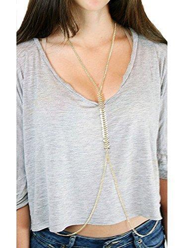 A&Z Icon Fashion Paramore corpo catena vita Link gioielli per corpo Catena