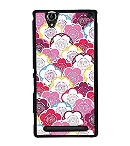 Colourful Wallpaper 2D Hard Polycarbonate Designer Back Case Cover for Sony Xperia T2 Ultra :: Sony Xperia T2 Ultra Dual SIM D5322 :: Sony Xperia T2 Ultra XM50h