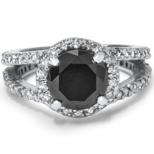 Black Diamond Engagement Rings Under $500 InfoBarrel