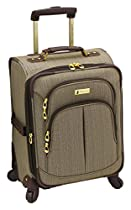 London Fog Chatham 360 Collection 20 Inch Expandable Upright, Tan, One Size