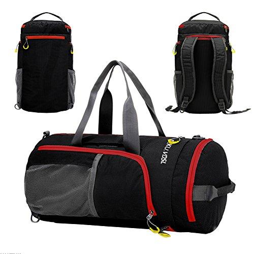 sports-duffels-pkuvdsl-foldable-travel-duffel-bag-water-resistant-nylon-gym-bags-multifunction-shoul