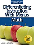 Differentiating Instruction with Menu...