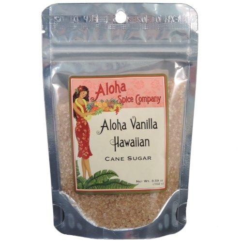 Aloha Vanilla Hawaiian Cane Sugar (4 Pack)