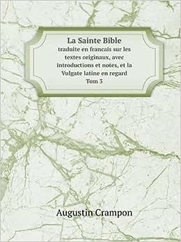 sainte bible traduite francois sur vulgate - AbeBooks