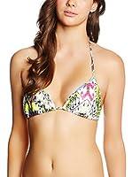JUST CAVALLI Sujetador de Bikini (Blanco / Verde / Rosa)