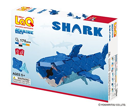 LaQ Marine World Shark Model Building Kit (Shark Model Kit compare prices)