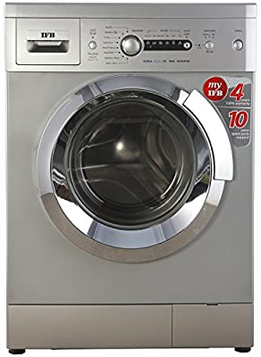 IFB Elena Aqua SX 6kg 1000RPM (LDT) Fully-automatic Front-loading Washing Machine (6 Kg, Silver)