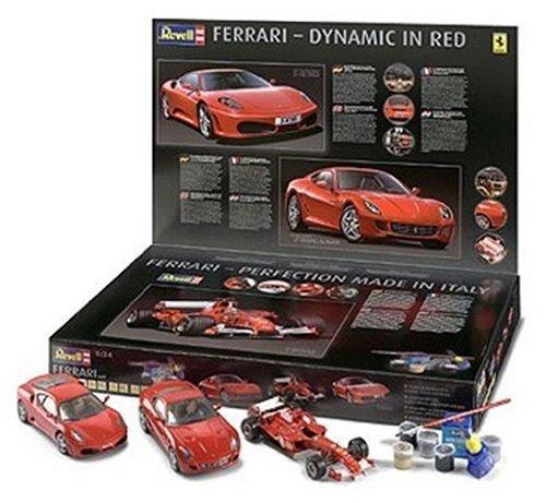 """Revell - 5703 - Maquette de Voiture - Coffret Cadeau """"3 Ferrari"""""""
