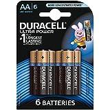 Duracell Pile Alcaline Ultra Power AA 6 Piles