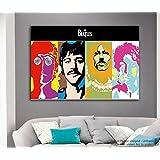 Tamatina Beatles Poster - Modern Pop Art Poster - Large Size Poster - Music Poster