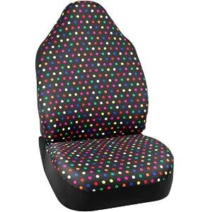 bell automotive seat cover polka dot car motorbike. Black Bedroom Furniture Sets. Home Design Ideas