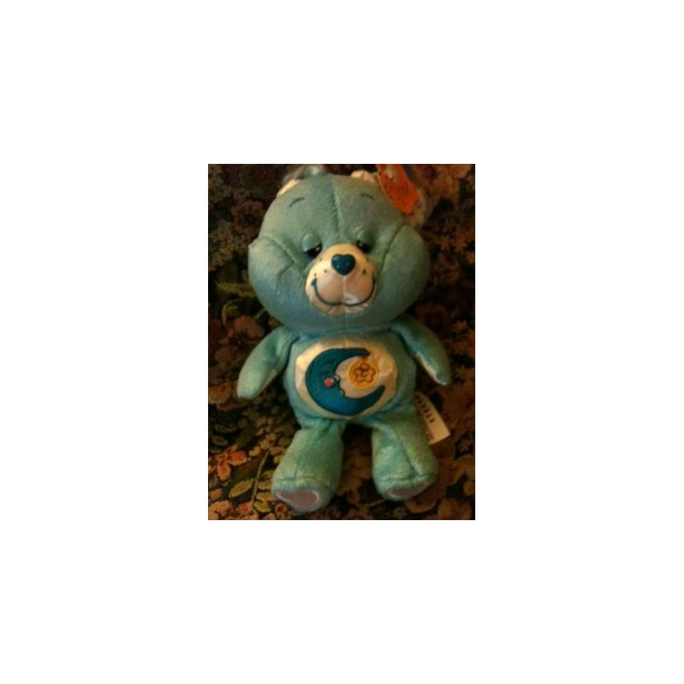 Plush Bedtime Bear Care Bear 8 Inches Dazzle Bright Special Edition 2004