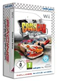 Crash Car Racer Bundle with Racing Wheel (Wii)