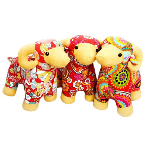 33 X 31Cm Stuffed Animals Vivid Goat Toys Home Decorations front-568362