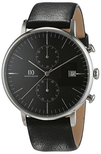 Danish-Design-Herren-Armbanduhr-IQ13Q975-Analog-Quarz-Leder-IQ13Q975