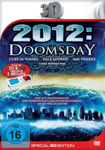 2012: Doomsday (Special 3D Edition inkl. 2 3D-Brillen) [Special Edition], DVD