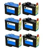 6 Pack (3BK+3C) Remanufactured