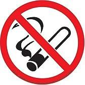 《NO SMOKING/禁煙》ステッカー【PRST-086】☆STICKER通販☆