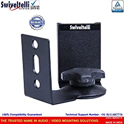 Swiveltelli Speaker Stand with Position Lock Feature