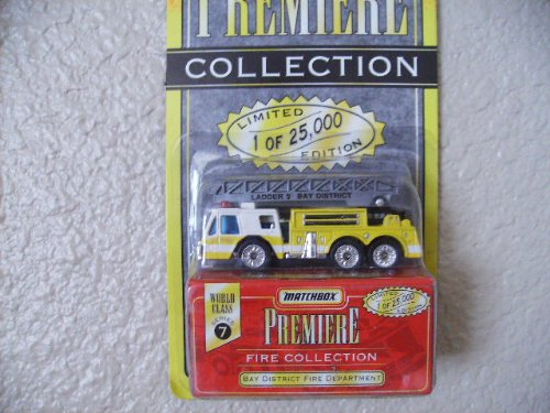 Matchbox Bay District Fire Truck Premiere Edition Series 7