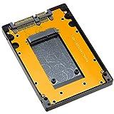 ProjectM mSATA/M.2 SSD 2.5インチSSD化アルミケース ブラック PM-MSATA257BK ランキングお取り寄せ