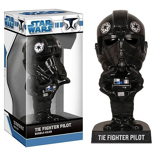 51epK9ORysL Reviews Star Wars TIE Fighter Pilot Bobble Head
