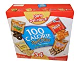 51epKRutP1L. SL160  Keebler 100 Calorie Right Bites Healthy Snack Packs Thirty Four Pouches Value Box
