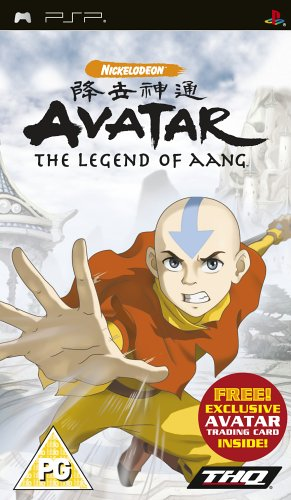 Avatar The Legend of Aang Used (PSP)