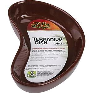 Zilla 11668 6-1/4-Inch Terrarium Dish