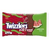 Twizzlers Pull 'n' Peel Candy, Watermelon, 14-Ounce Bags (Pack of 6)