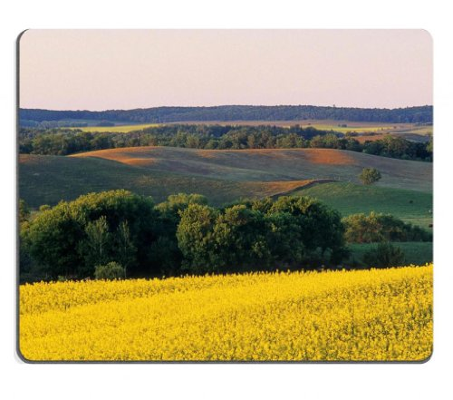 landscapes-golden-autumn-harvest-scenery-mouse-pads-customized-made-to-order-support-ready-9-7-8-inc