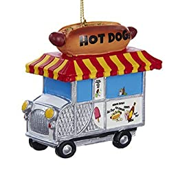 Kurt Adler Hot Dog Truck Ornament by Kurt Adler
