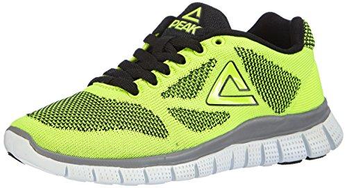 Peak Sport Europe - PEAK Sport Europe F Lites Yellow-Black Unisex Sneaker, Scarpe sportive outdoor per bimbi, giallo (yellow/black), 33