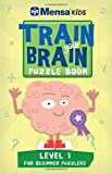 img - for Train Your Brain: Puzzle Book: Level 1: Approx 45 One-Colour Illustrations book / textbook / text book