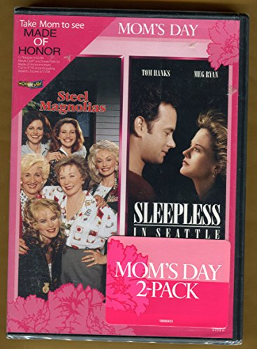 Mothers Day Release ** Steel Magnolias / Sleepless in Seattle ** Dvd 2 Pack