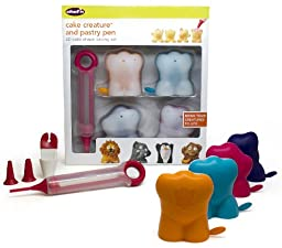 Chef\'n Cake Creature and Pastry Pen 3-D Cake Shape Baking Set