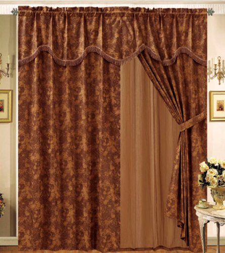 Bedding Set With Curtains 5069 front