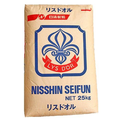 【フランスパン用中力小麦粉】 日清製粉 リスドオル 2kg袋
