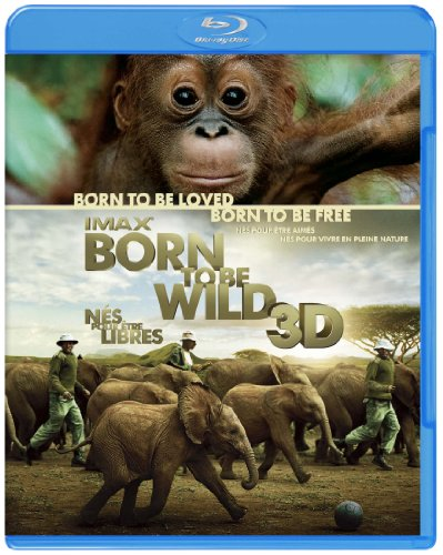 IMAX: Born To Be Wild 3D&2Dブルーレイ [Blu-ray]